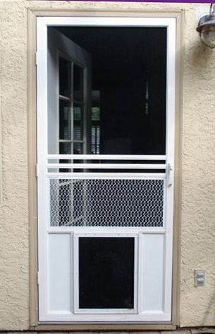 Exterior Door With Built In Pet Door home decor Takcop